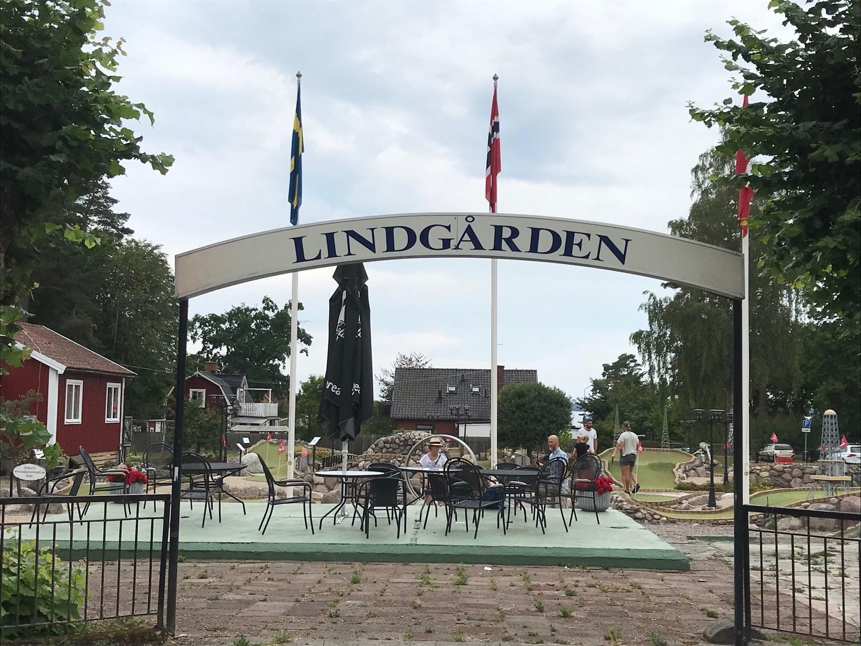Entré till Lindgårdens äventyrsgolf
