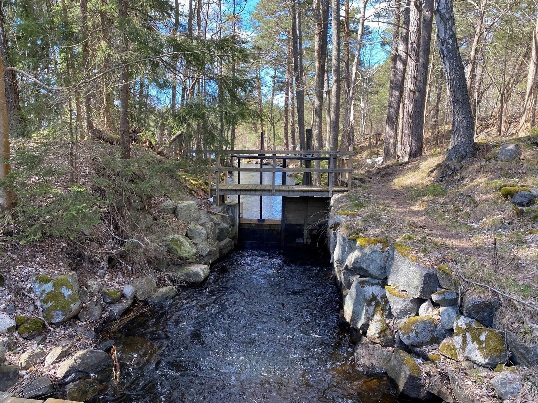 Bro över vattendrag